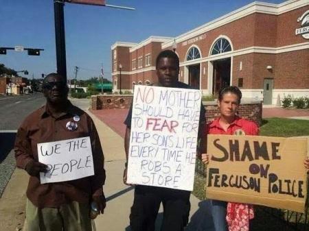 Ferguson idiots