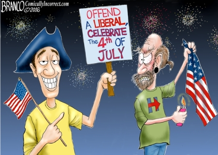 offend a liberal